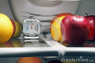 Food Temperature Stock Photo - Image: 20130790
