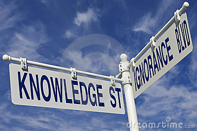 Knowledge St And Ignorance Blvd