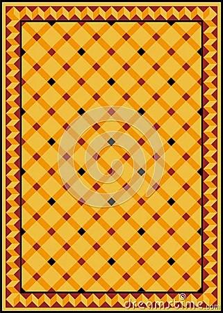 Old tiled floor