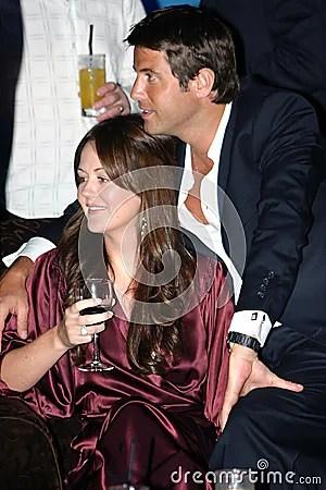 Sebastien Izambard And Renee Murphy Editorial Photo