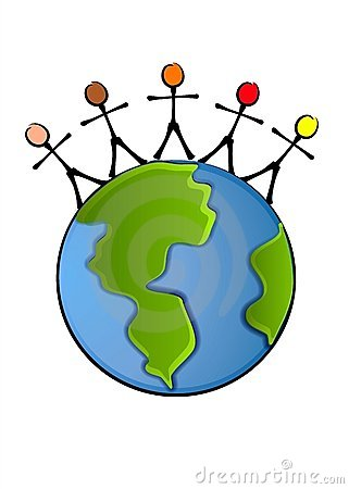 WORLD PEACE EARTH CLIP ART (click image to zoom)