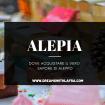 Alepia dove acquistare il vero sapone di Aleppo