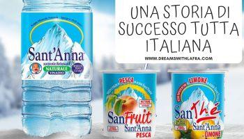 Acqua sant'Anna: una storia di successo tutta italiana