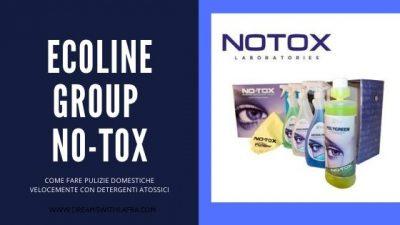 Come pulire la propria casa velocemente con i prodotti Ecoline Group No-tox