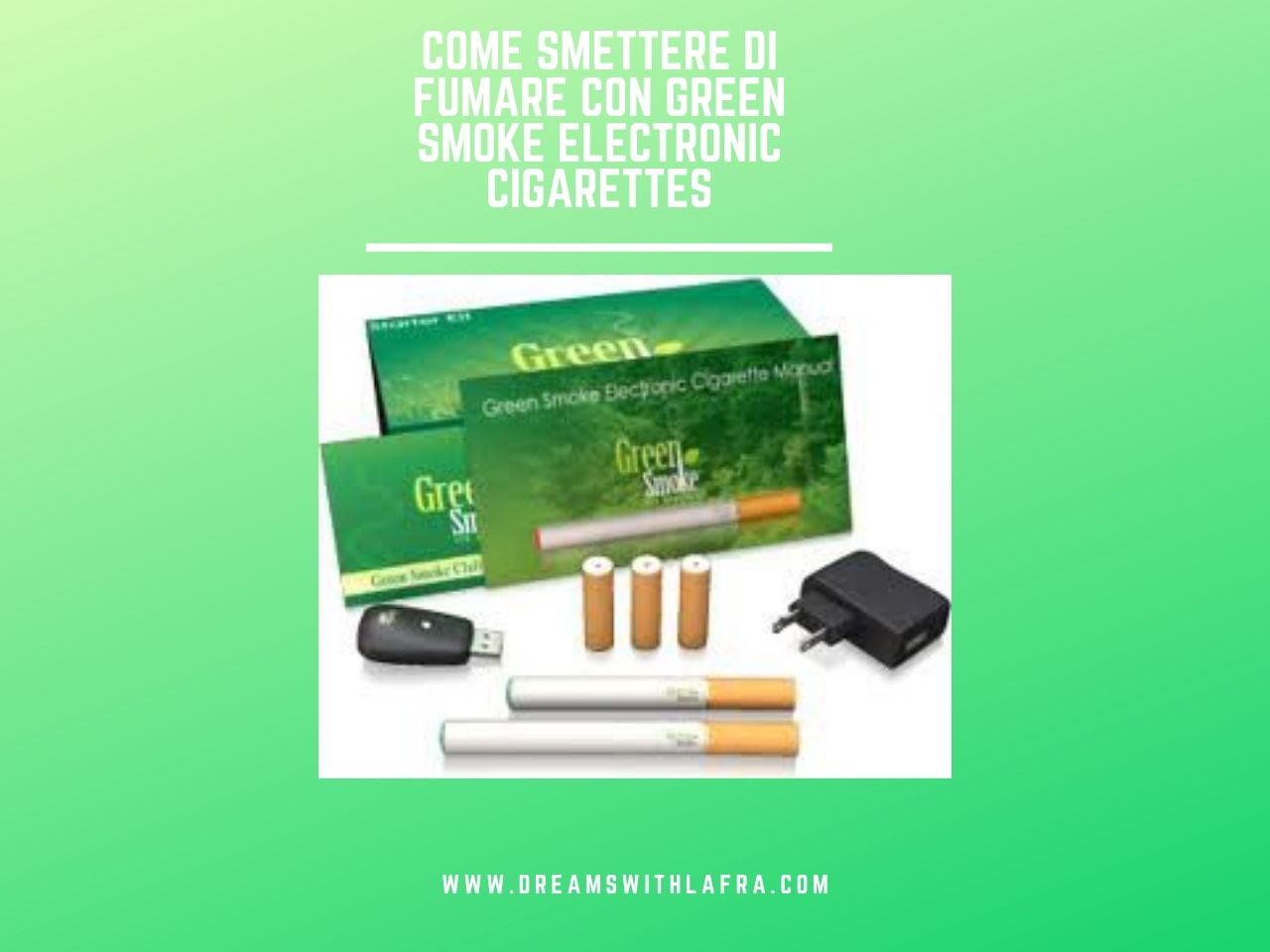Green Smoke Electronic Cigarettes