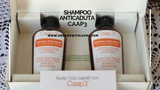 Caap3 shampoo anticaduta, come combattere la caduta dei capelli