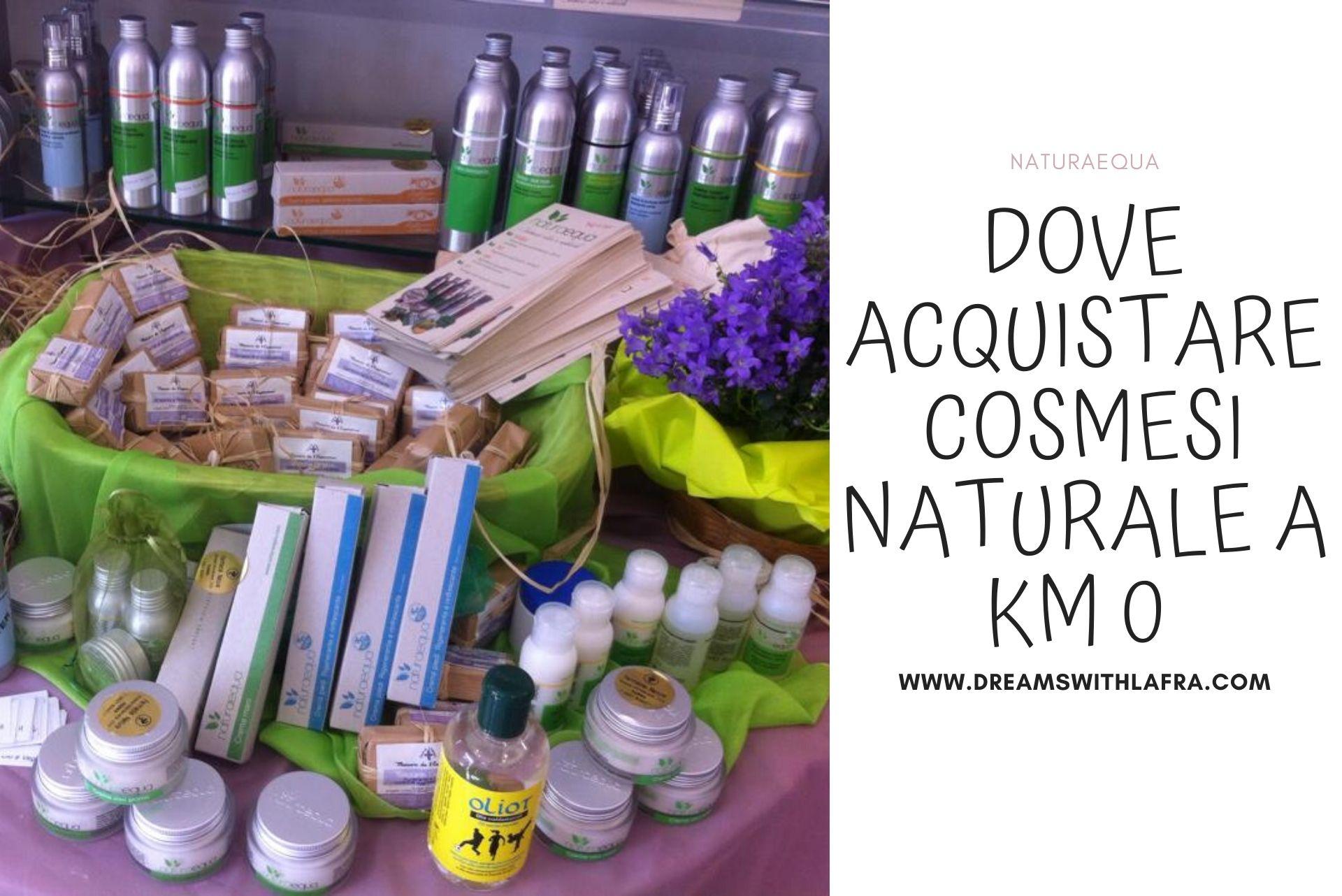 NaturaEqua - Dove acquistare cosmesi naturale a km 0