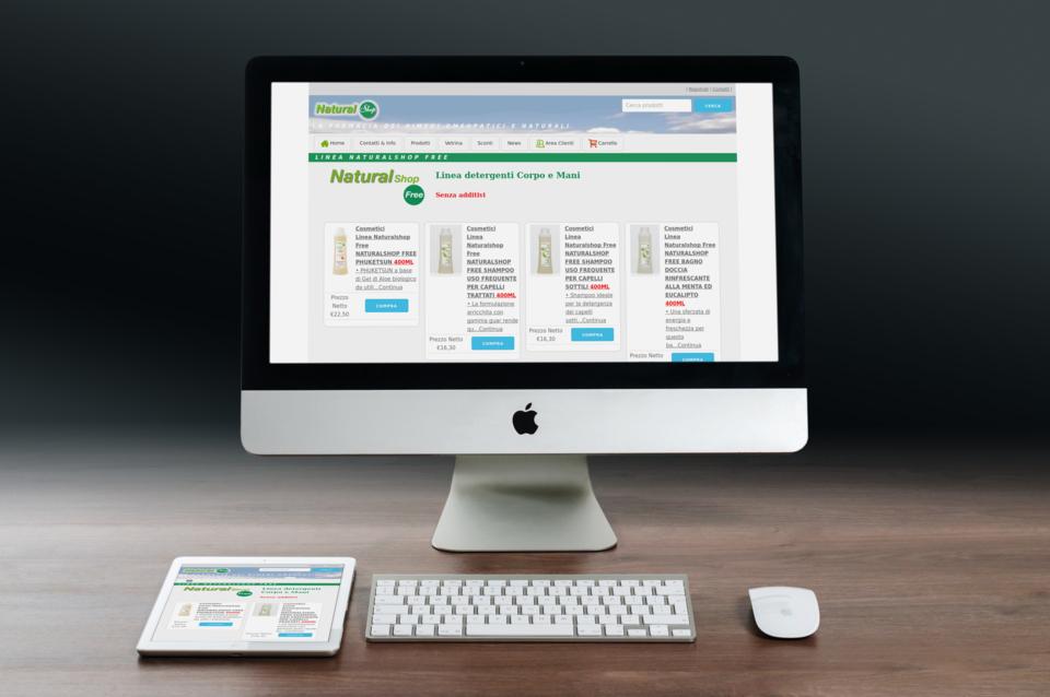 Naturalshop la farmacia online a portata di click