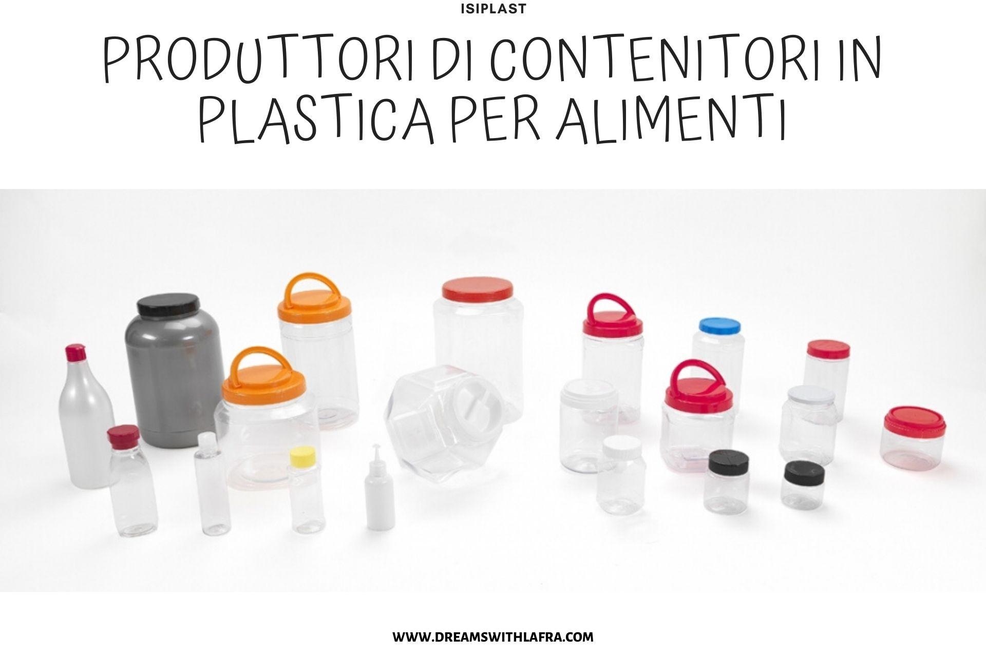 Isiplast produttori di contenitori in plastica per alimenti