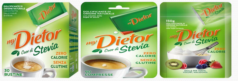 My Dietor cuor di stevia