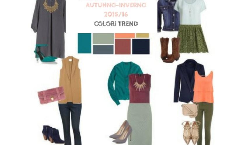 Moda autunno-inverno 2015/16 i colori trend