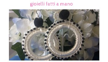 Malice&Pearls gioielli fatti a mano all' uncinetto