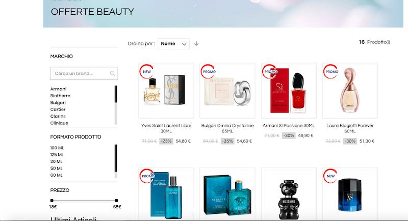 Dove comprare profumi online di marca e al miglior prezzo