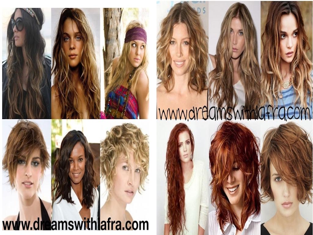 Texture morbide bohemian style hair