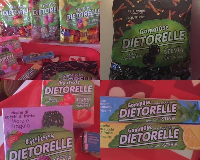 Dietorelle: caramelle senza zucchero con estratto di stevia