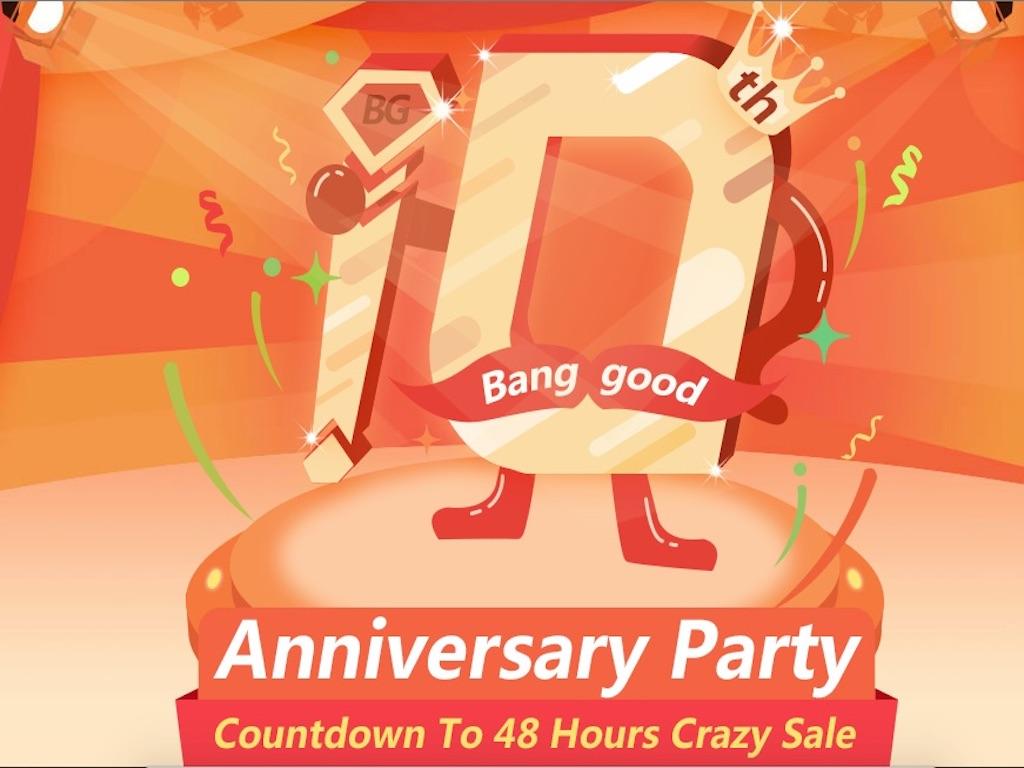 Chi conosce Banggood? Festeggia il suo decimo anniversario