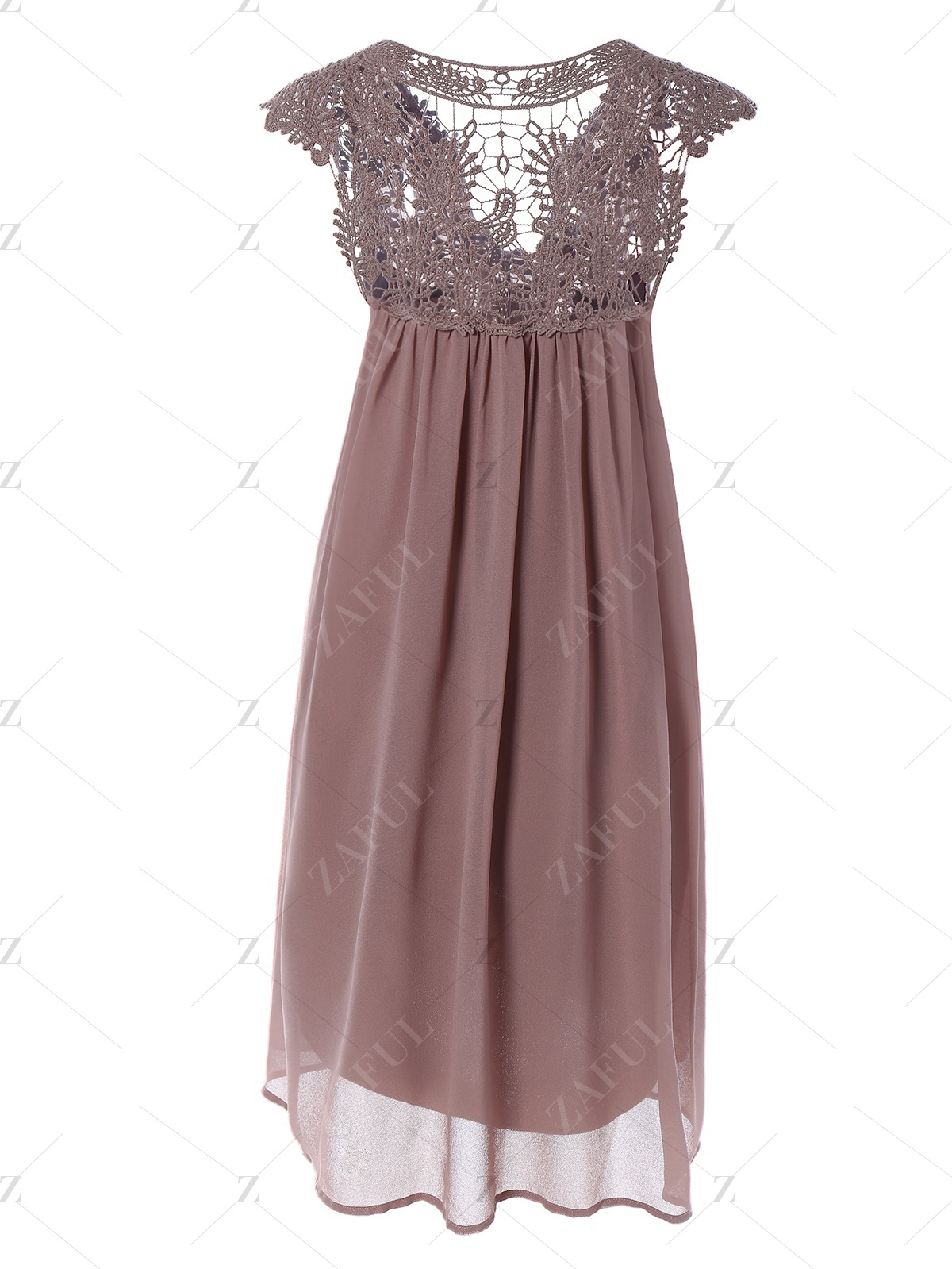 plus-size-lace-chiffon-dress