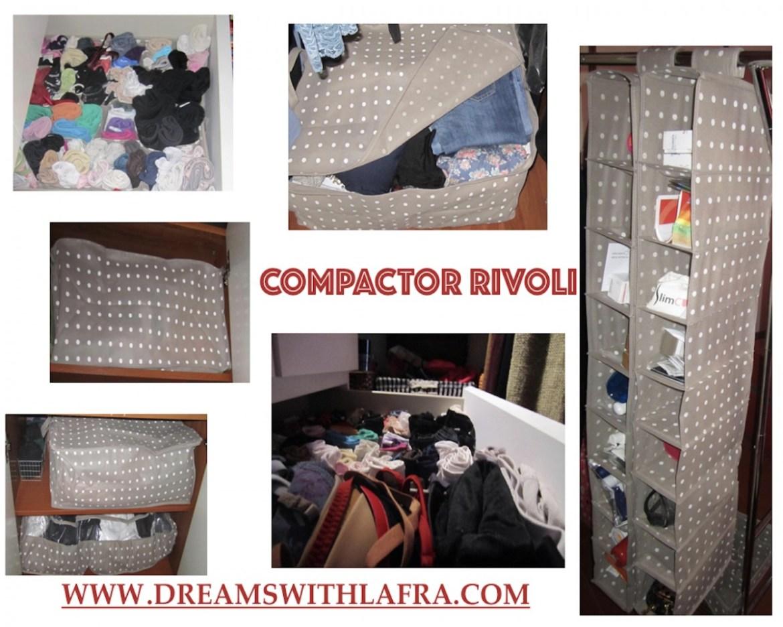 Come tenere ordinati armadi e cassetti con Compactor