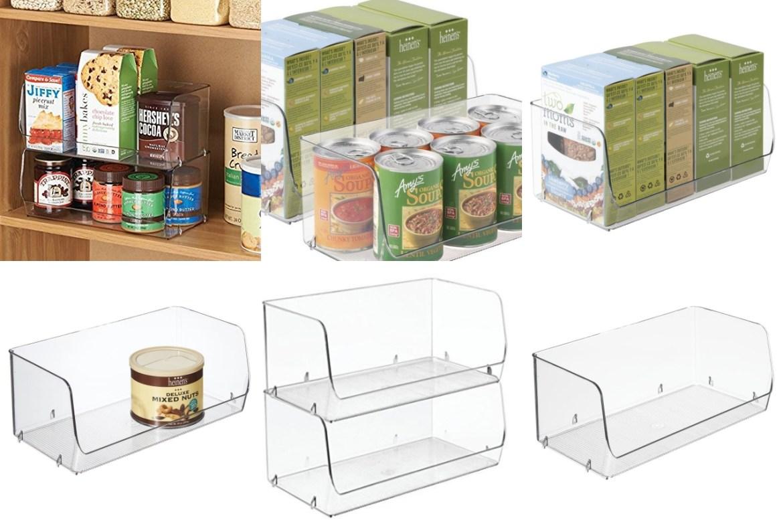 contenitori organizzatori impilabili per cucina