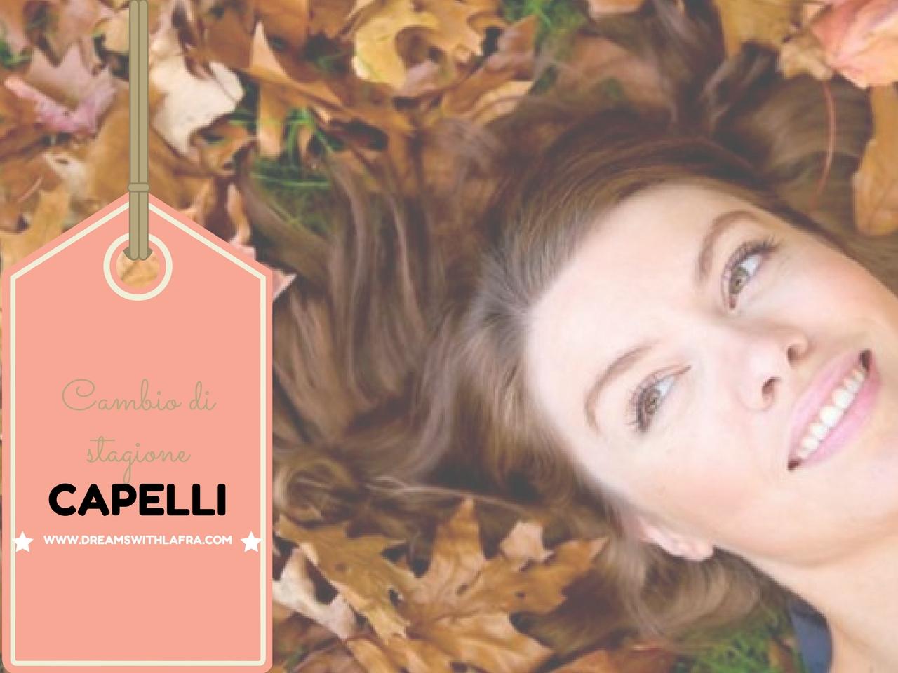 Cambio di stagione: protagonisti dell' autunno i capelli
