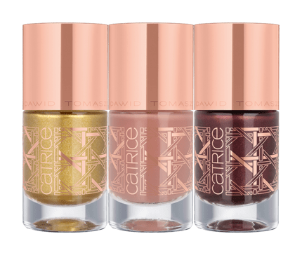 Dawid Tomaszewski Limited Edition di Catrice: NAIL LACQUER