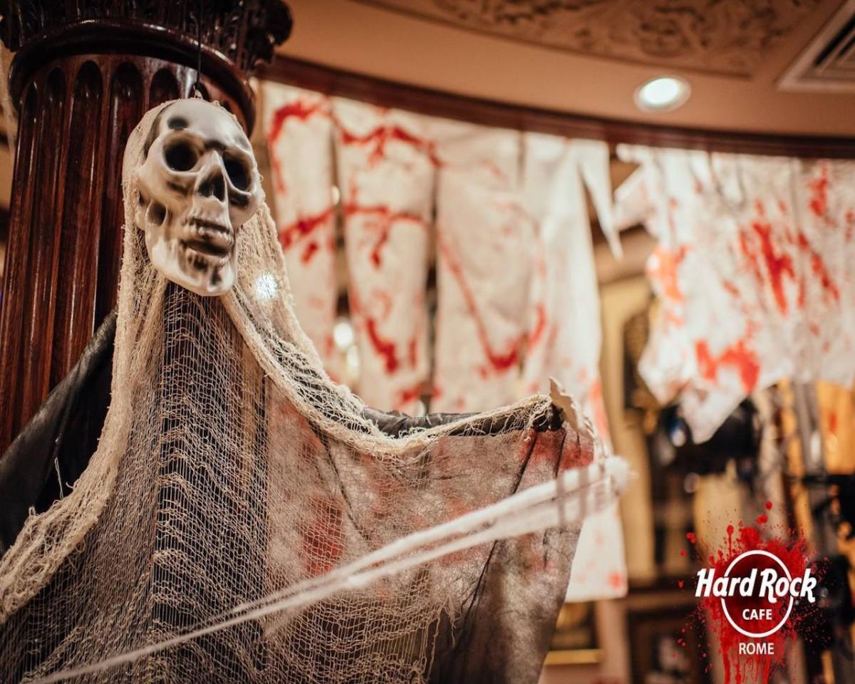 Halloween come si festeggia in Italia - Hard Rock Cafe di Roma