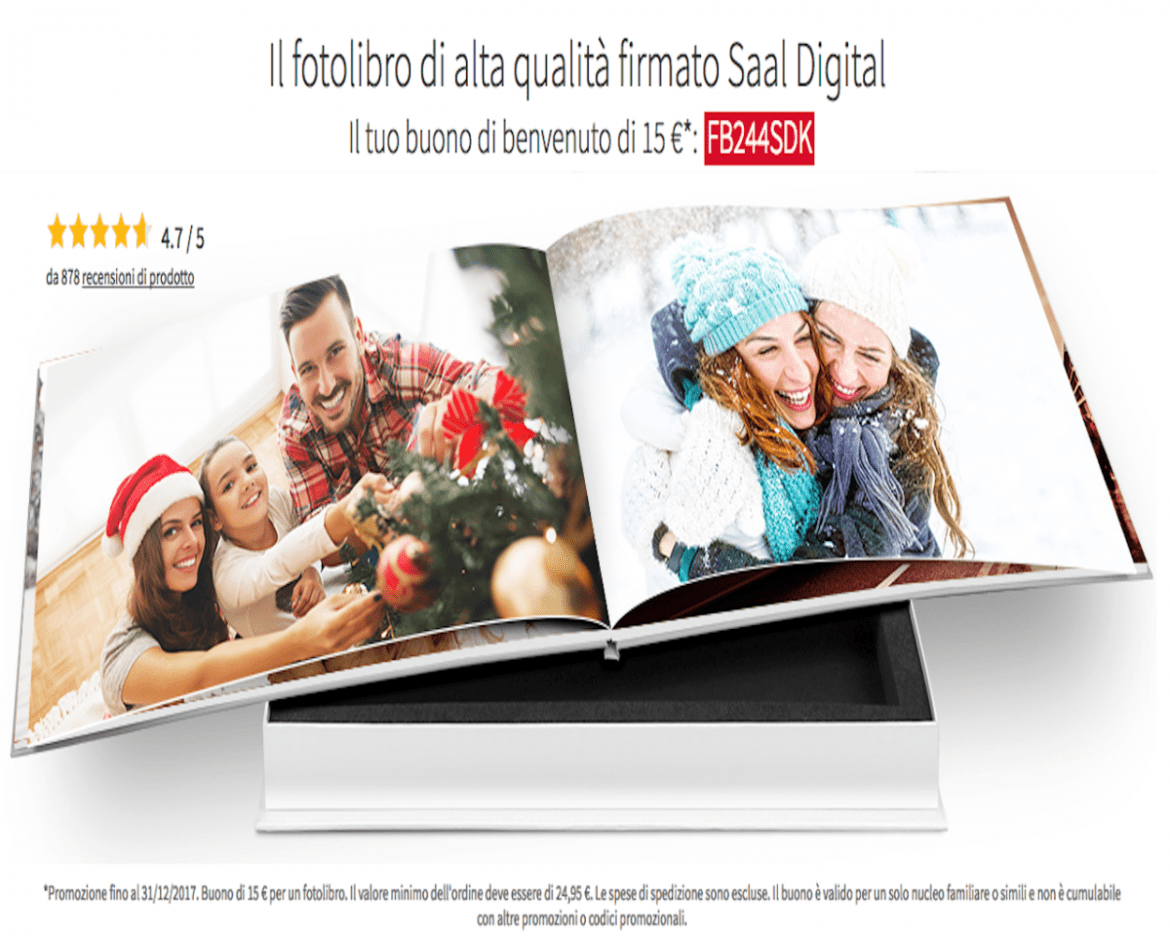 Come realizzare un fotolibro su Saal Digital