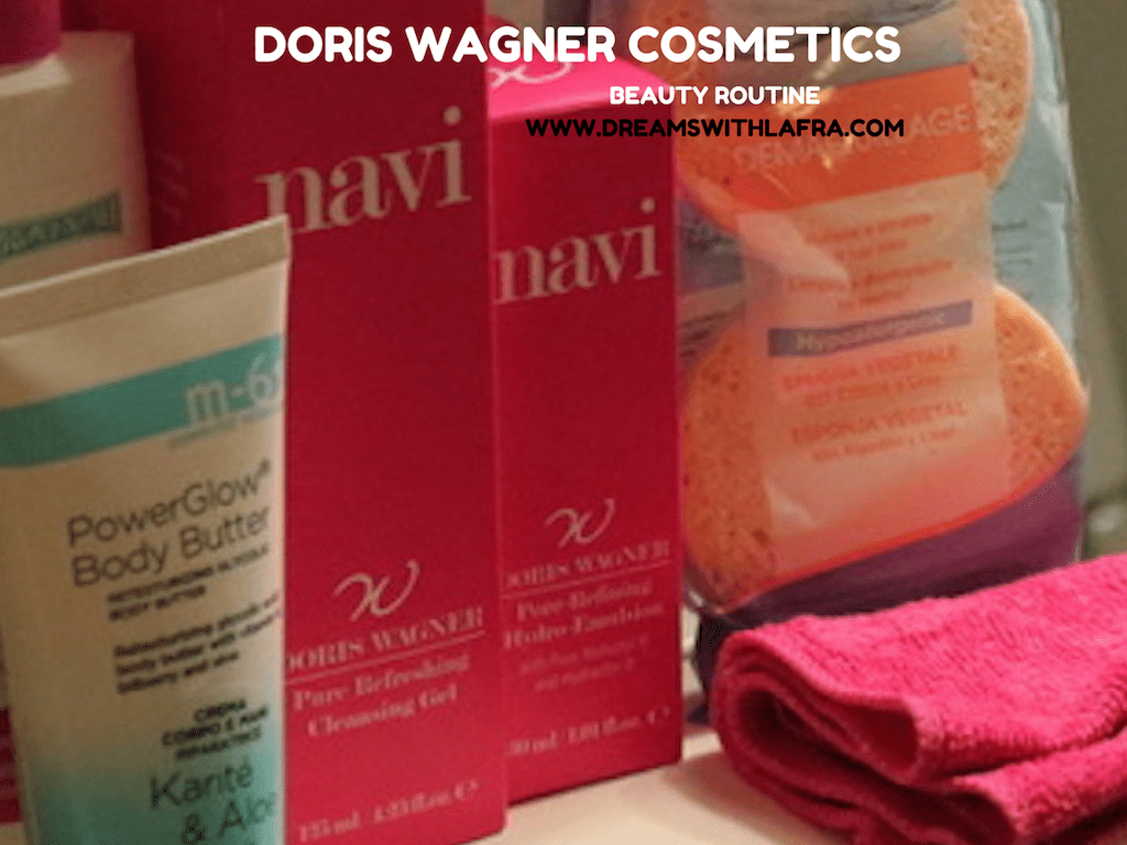 DORIS WAGNER COSMETICS LA MIA BEAUTY ROUTINE