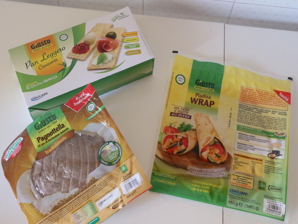 Giusto® Senza Glutine: il pane e i sostituti