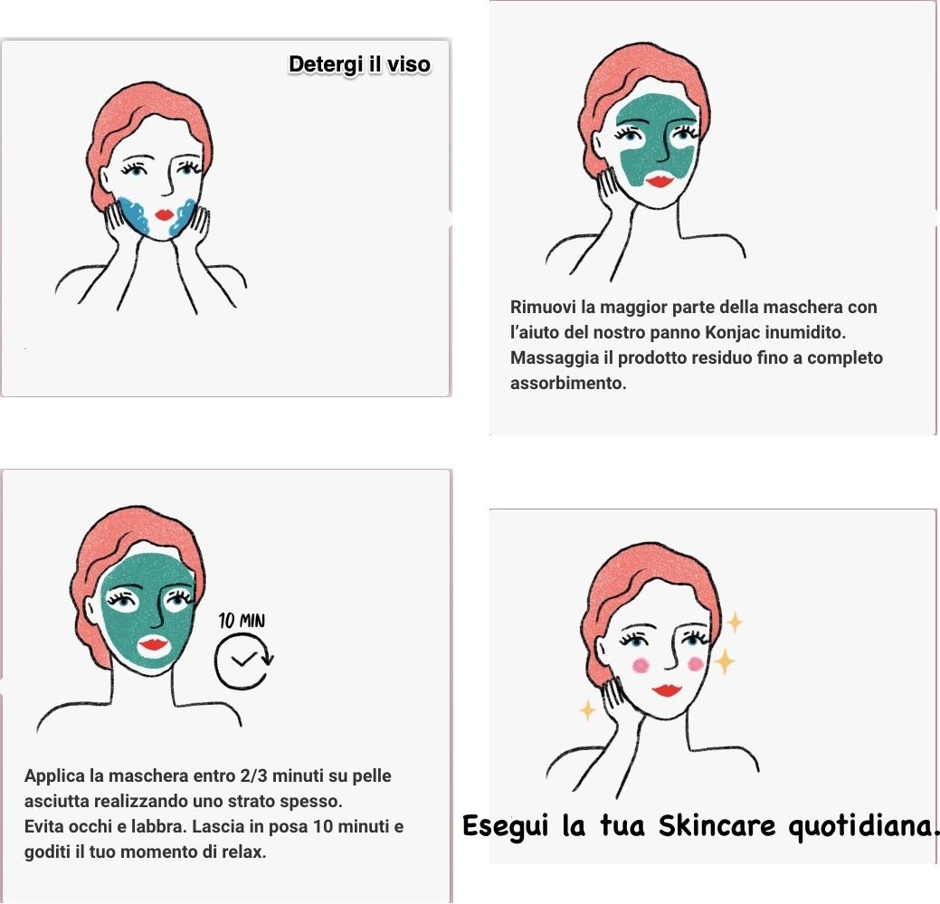 maschera brenda modo d'uso