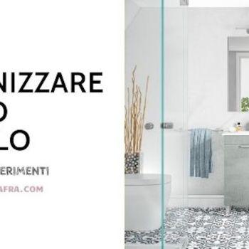 Come organizzare bagno piccolo