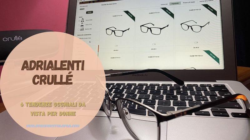 Adrialenti Crullé: 6 tendenze occhiali da vista per donne