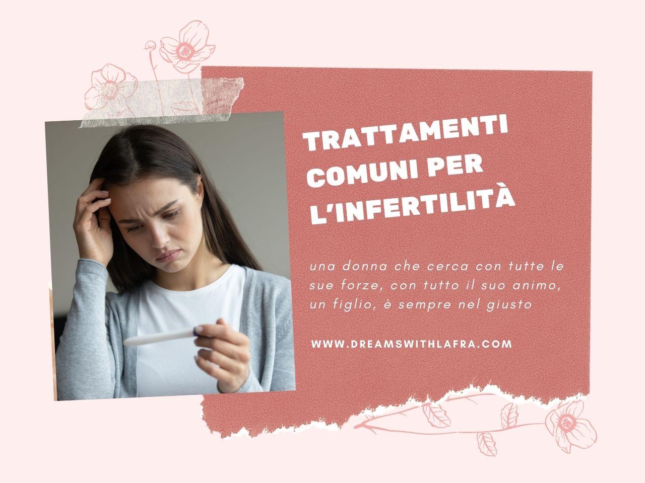 6 trattamenti comuni per l'infertilità