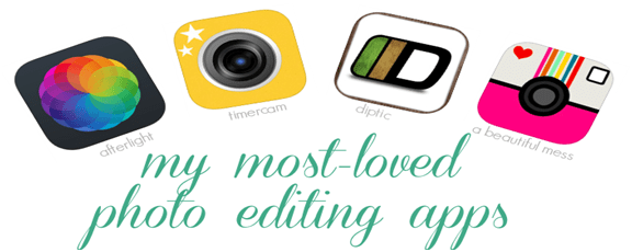 photo editing iphone apps