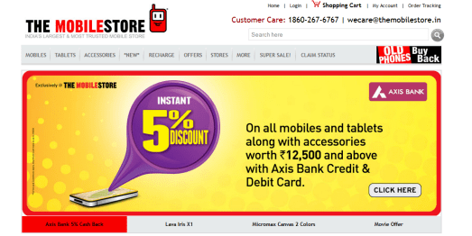 best 5 shopping sites to buy mobile phones online