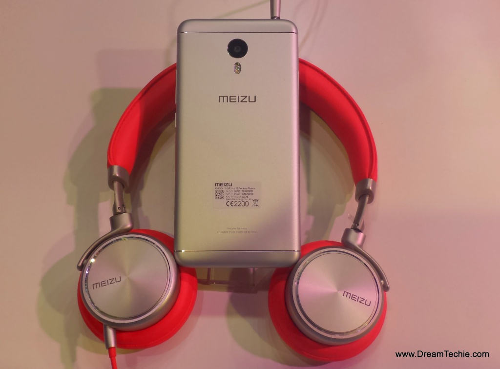 Meizu M3Note, Silver Color Design Hands On Pictures