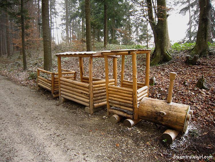 Austria-Tirol-Kramsach-wooden_train