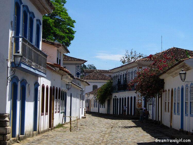 Street in Paraty