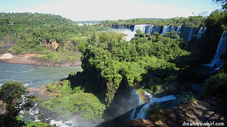 Iguazú Falls from the upper trail