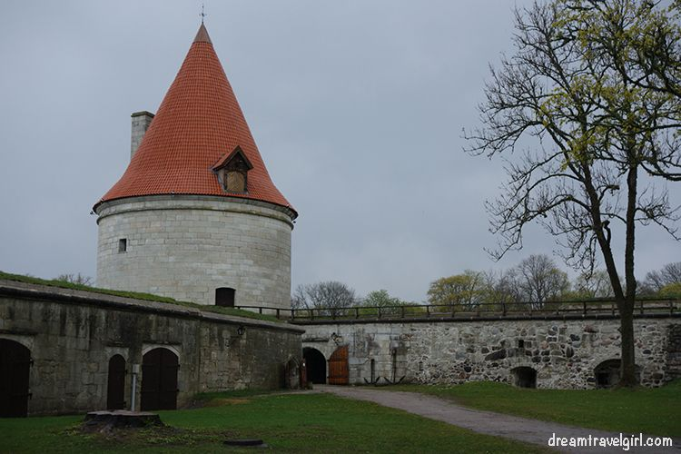 restored tower and wall