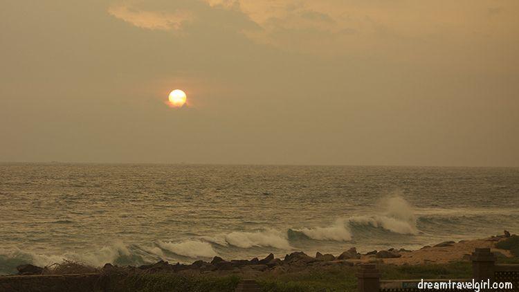 India_Kanyakumari_sunset
