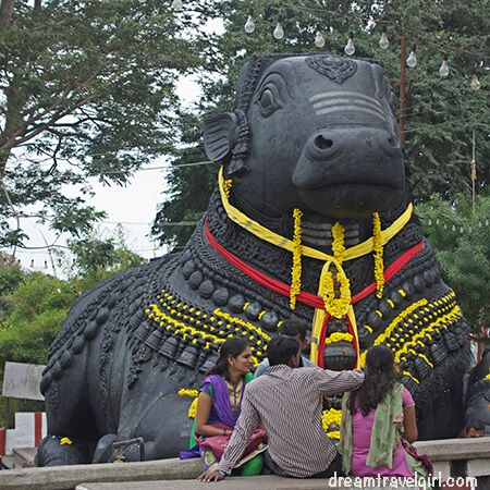Big Nandi on Chamundi hill