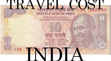 India on a budget: my detailed travel cost