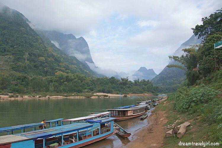 Muang Ngoi, northern Laos