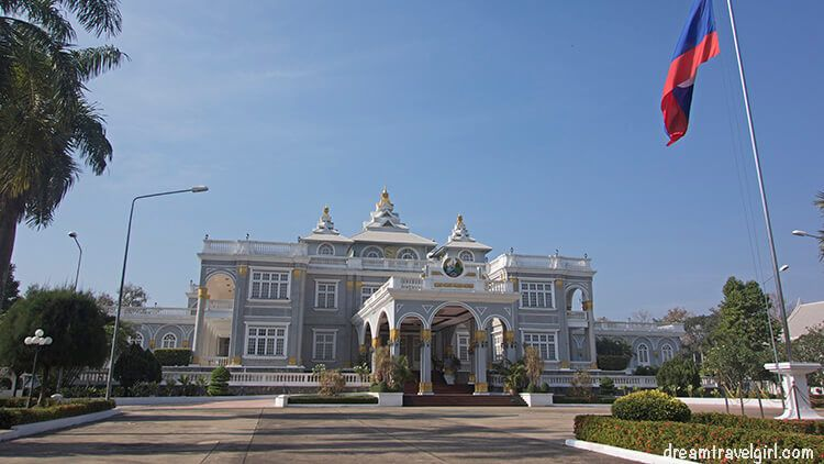 Laos_Vientiane_presidential-palace