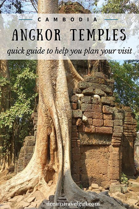 Quick guide to help you plan your trip to the Angkor temples