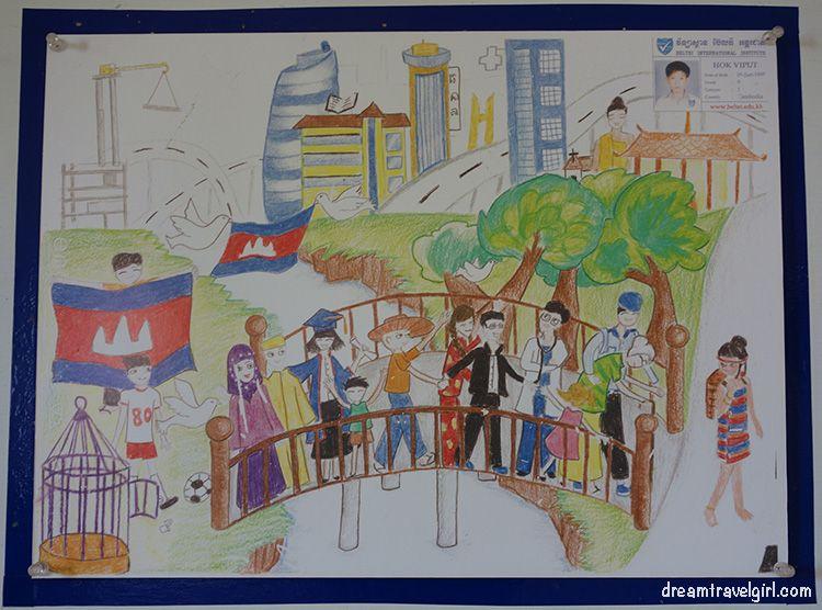 Cambodia_Phnom-Penh_children-drawing-peace1