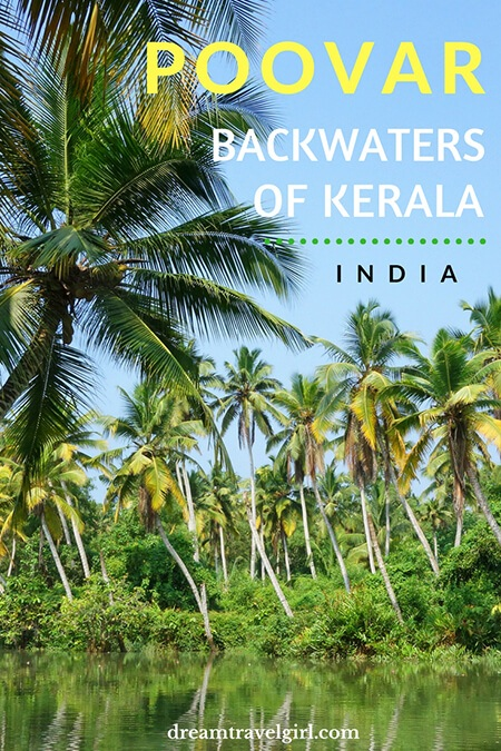 Poovar is an off the beaten path place in the backwaters of Kerala, India