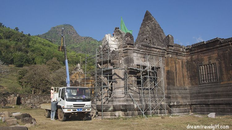 Ongoing reconstruction work