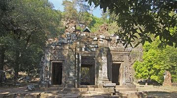 Vat Phou, the Angkor-style temple in Laos